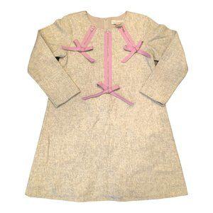 Halabaloo wool blend dress Girls Size 8 Purple Zip